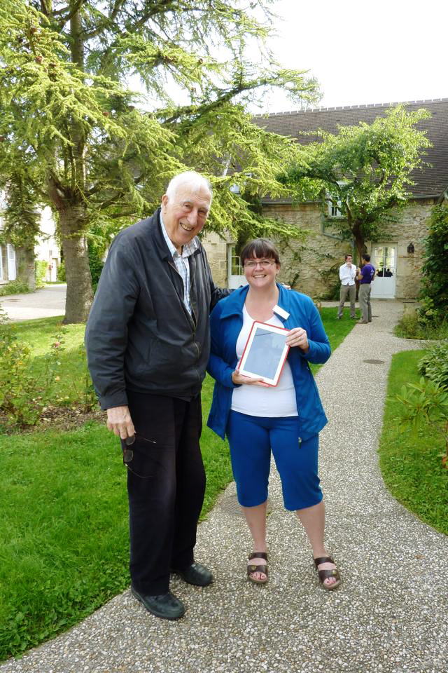 Jean Vanier and Renelle