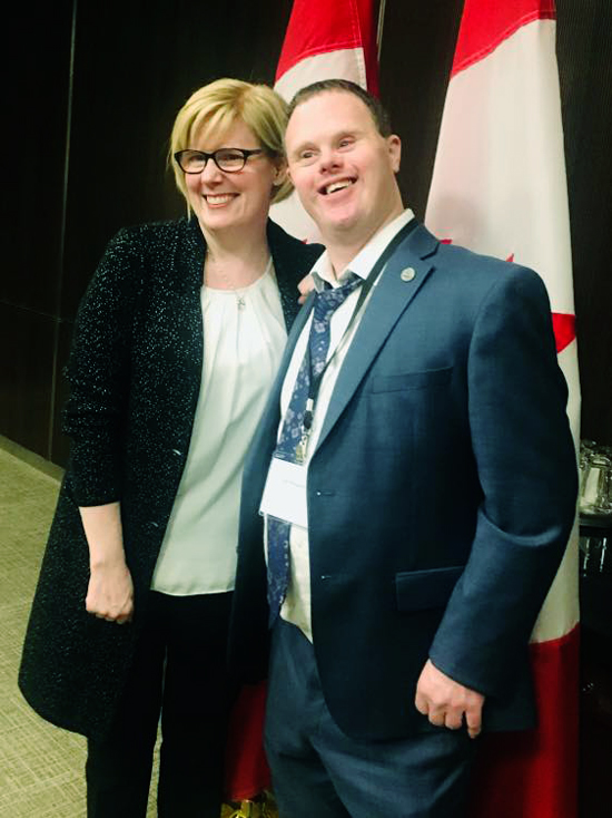 Ian Pellerin and Carla Qualtrough